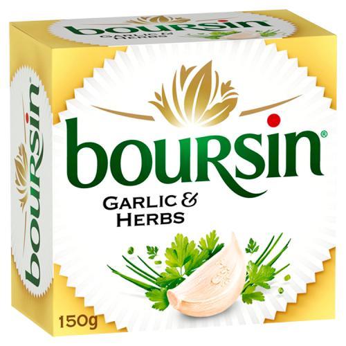 Boursin Garlic & Herbs Soft Cheese 150g