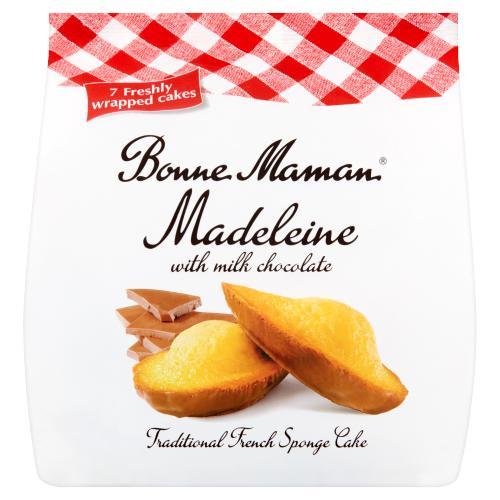 Bonne Maman Madeleine with Milk Chocolate 210g