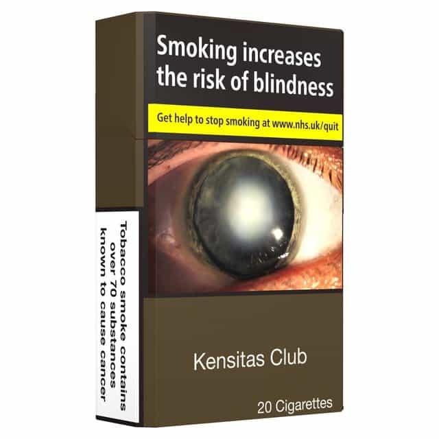 Kensitas Club King Size Cigarettes