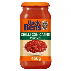 Uncle Bens Chilli Con Carne Medium Sauce 450g