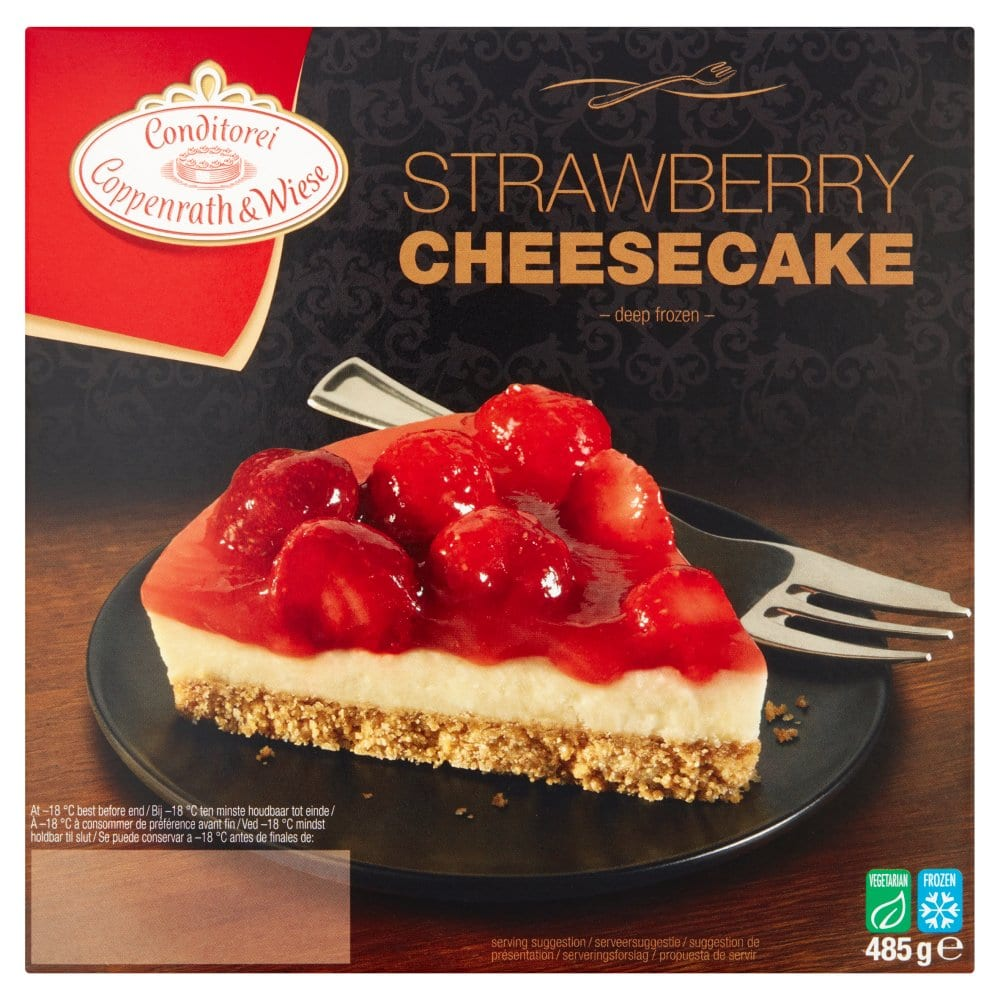 Coppenrath & Wiese Strawberry Cheesecake 485g