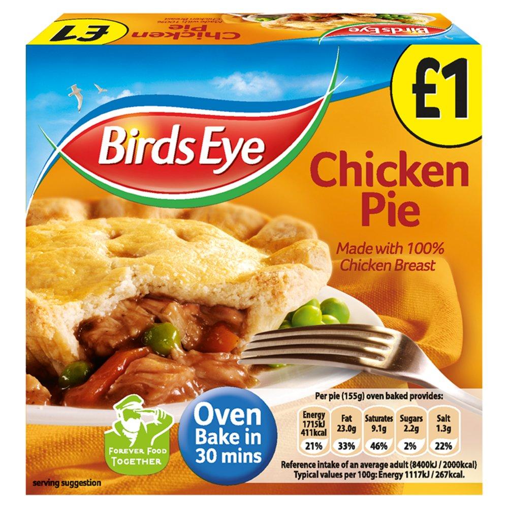 Birds Eye Chicken Pie 155g