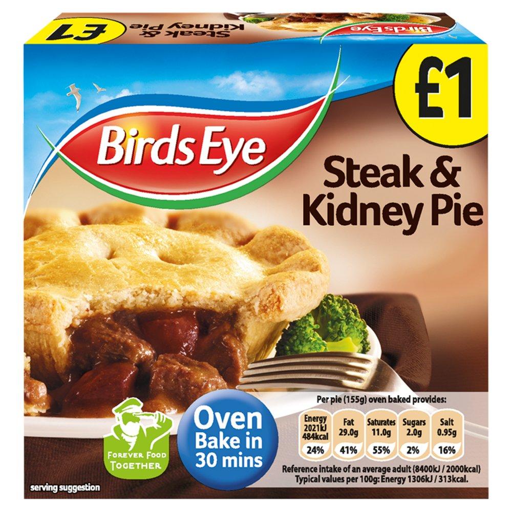 Birds Eye Steak & Kidney Pie 155g