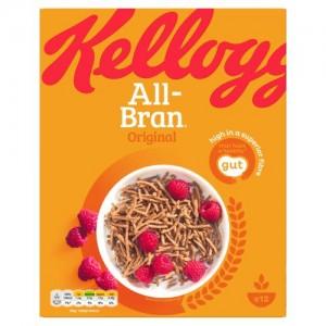 Kellogg's All-Bran Original Cereal 500g