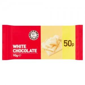 Euro Shopper White Chocolate 90g
