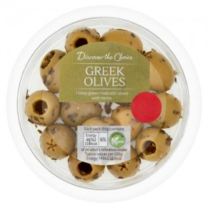 Discover the Choice Greek Olives 65g