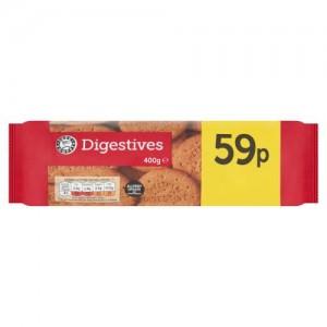 Euro Shopper Digestives 400g
