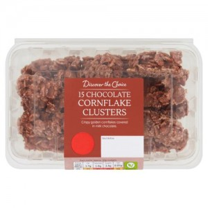 Discover the Choice 15 Chocolate Cornflake Clusters