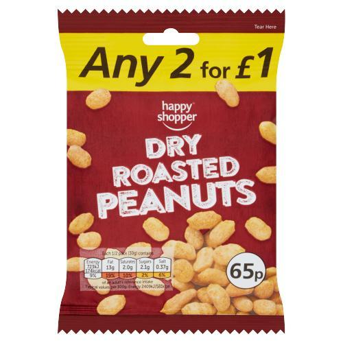 Happy Shopper Dry Roasted Peanuts