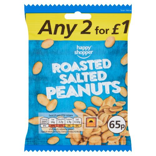 Happy Shopper Roasted Salted Peanuts