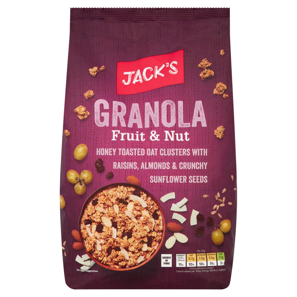 Jack's Granola Fruit & Nut 1kg