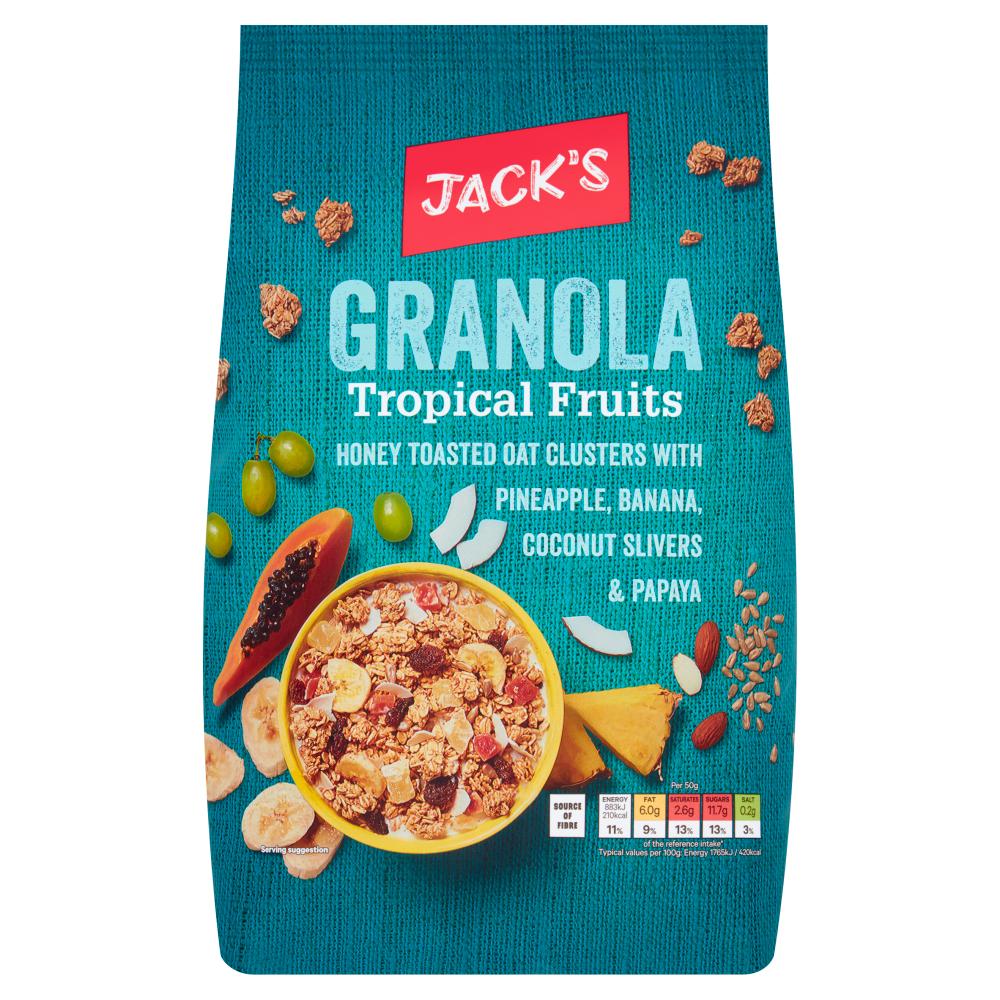 Jack's Granola Tropical Fruits 1kg
