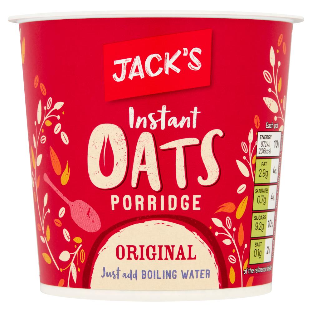 Jack's Instant Oats Porridge Original 55g