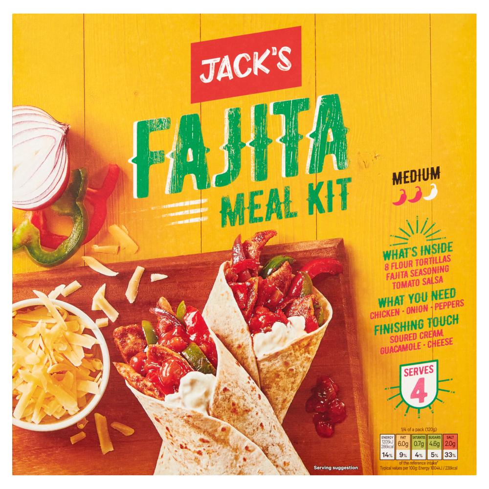 Jack's Fajita Meal Kit 475g