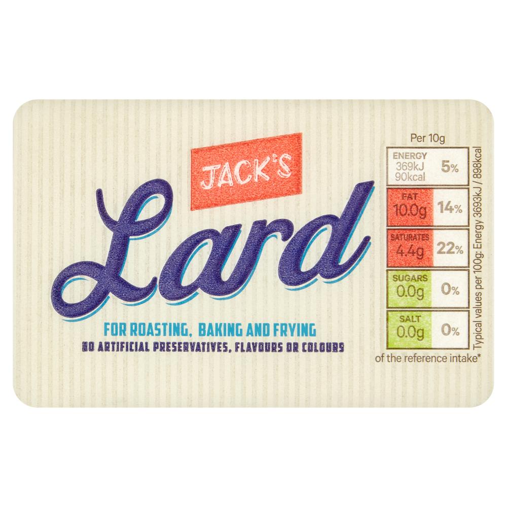 Jack's Lard 250g