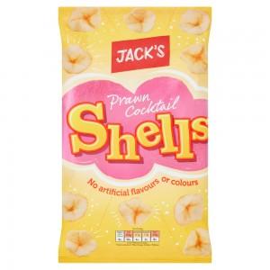 Jack's Prawn Cocktail Shells 85g