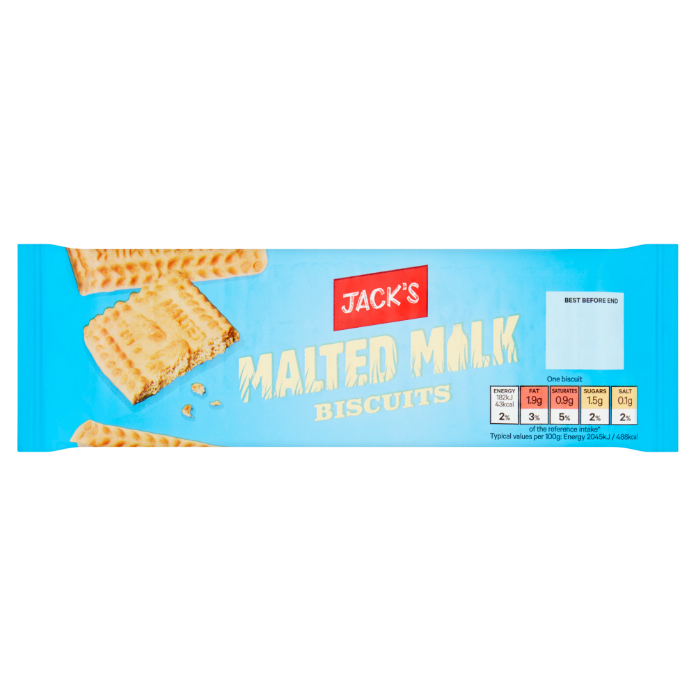 Jack's Malted Milk Biscuits 200g