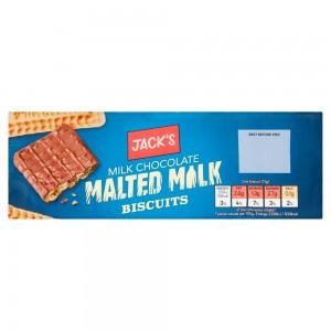 Jack's Milk Chocolate Malted Milk Biscuits 250g
