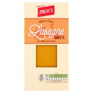 Jack's Lasagne Sheets 250g
