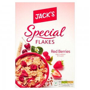 Jack's Special Flakes Red Berries 375g