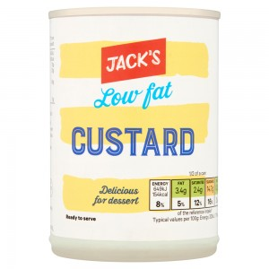 Jack's Low Fat Custard 400g
