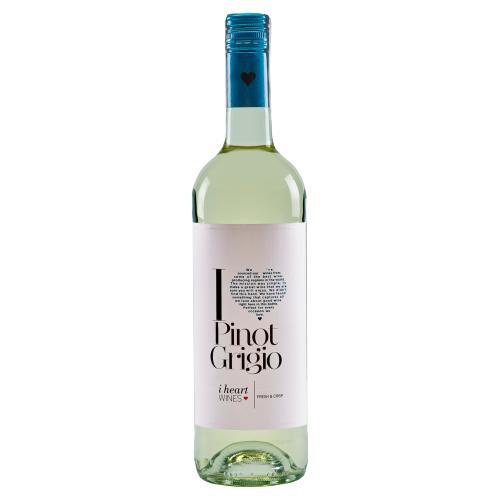 I Heart Pinot Grigio Hungarian Dry White Wine 750 ml