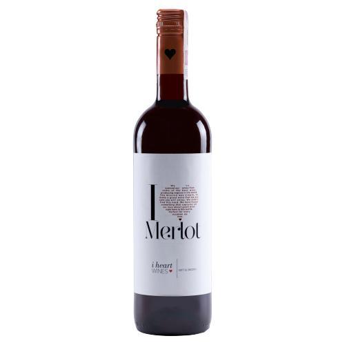 I Heart Merlot Spain Semi Dry Red Wine 750 ml