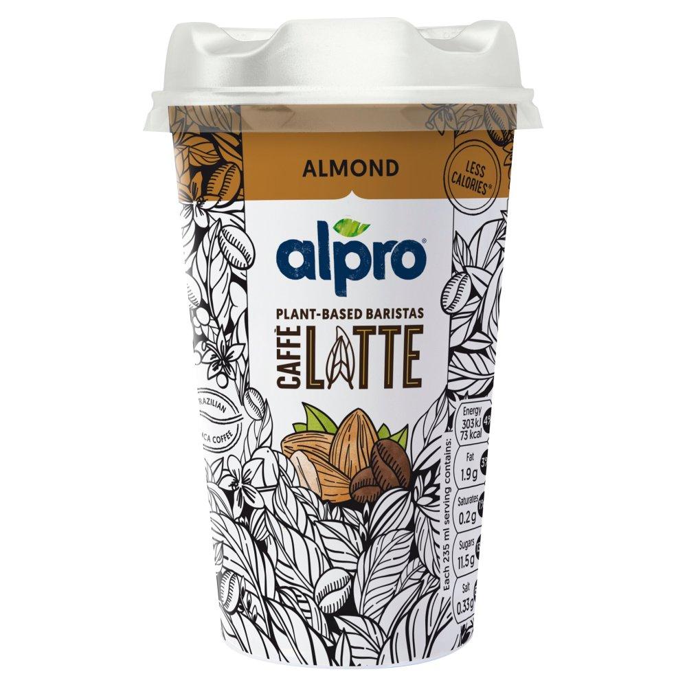 Alpro Caffè Latte Brazilian Coffee and Almond Chilled Drink 235ml
