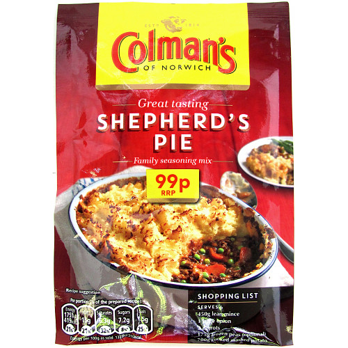 Colmans Cass Shepherd Pie