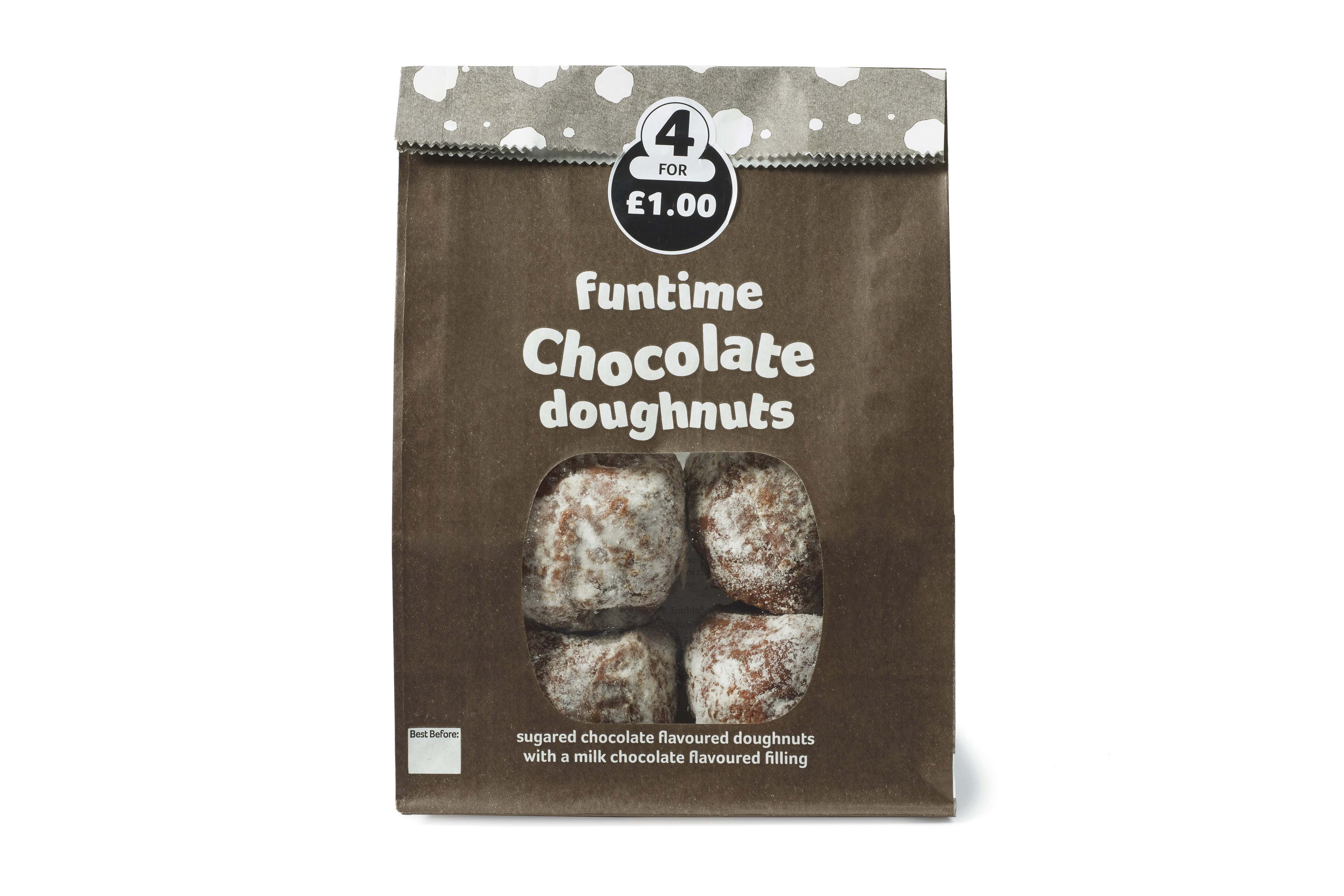 Funtime Double Chocolate Doughnuts