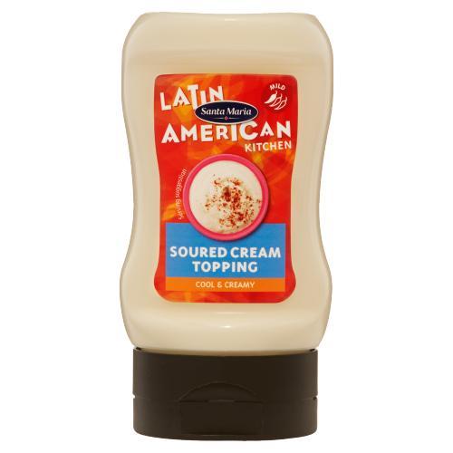 Santa Maria Latin American Kitchen Soured Cream Topping 215g