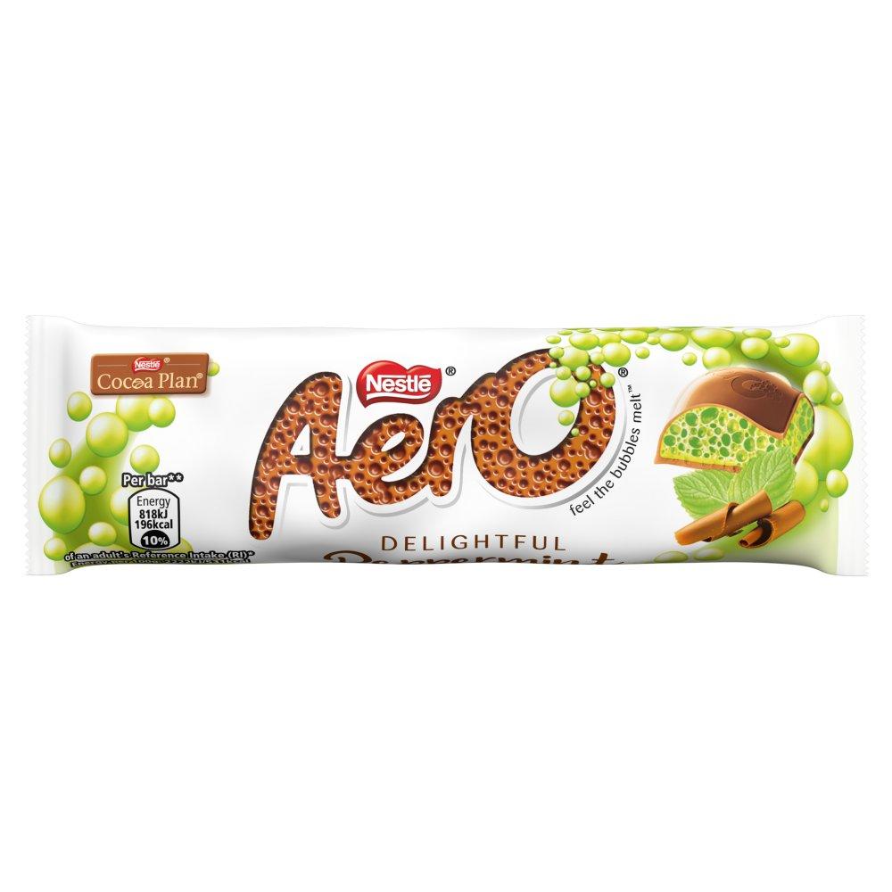Aero Peppermint Mint Chocolate Bar 36g