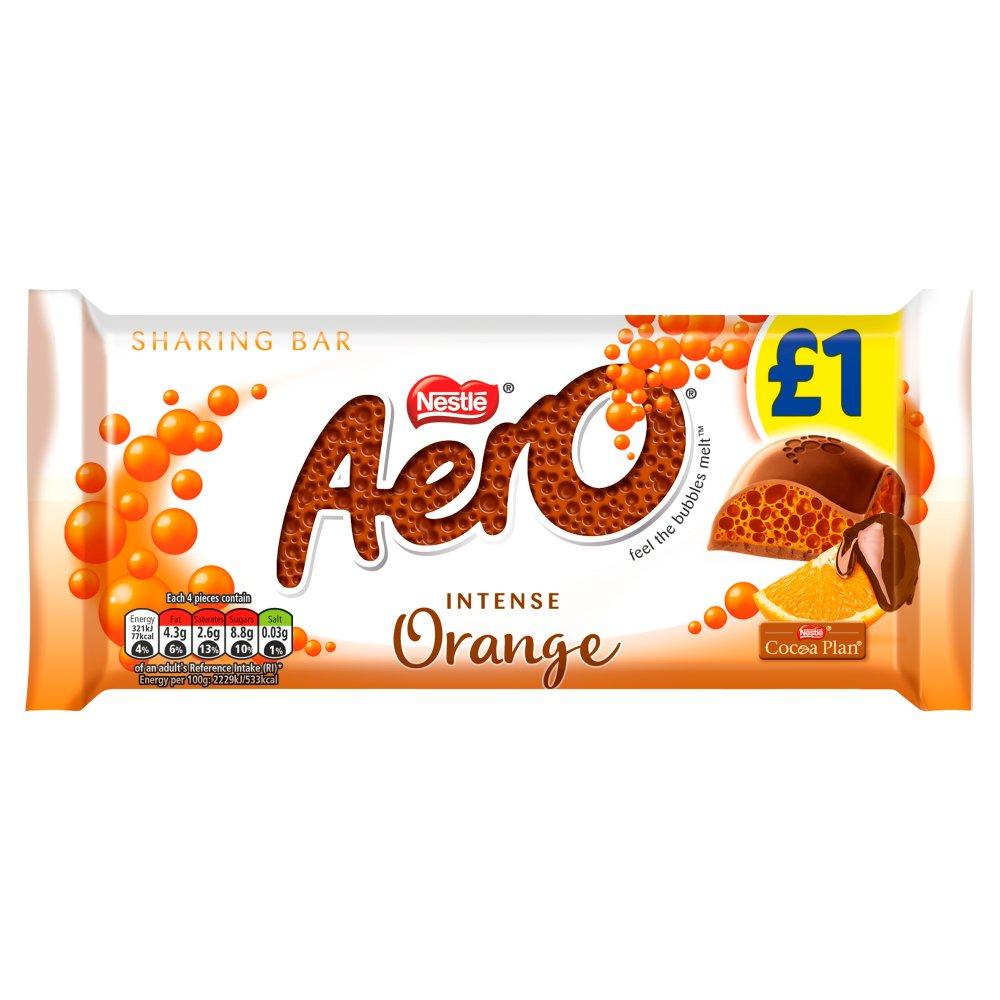 Aero Orange Chocolate Sharing Bar 90g