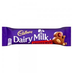 Cadbury Dairy Milk Fruit and Nut Chocolate Bar 49g