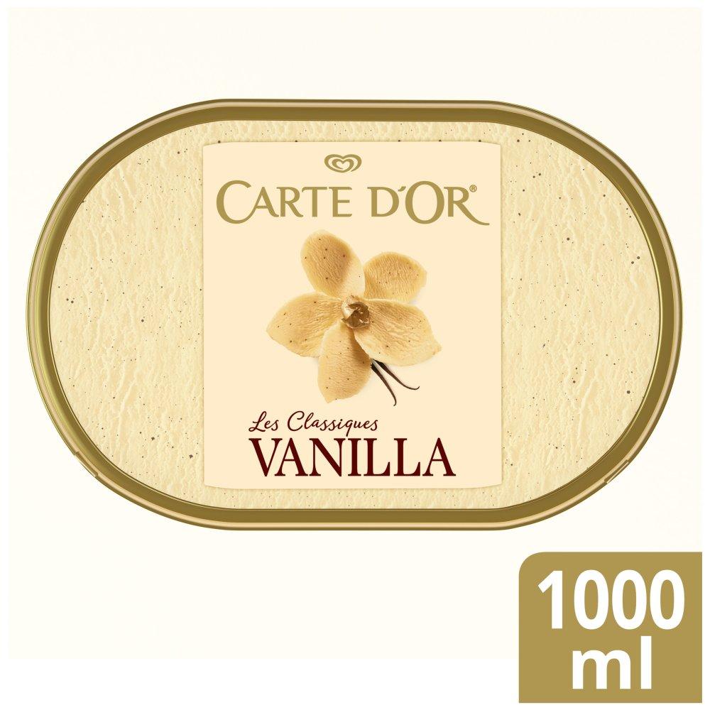 Carte D'or Vanilla Ice Cream Dessert 1000 ml