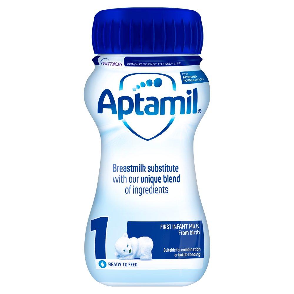 Aptamil 1 First Baby Milk Formula From Birth 200ml