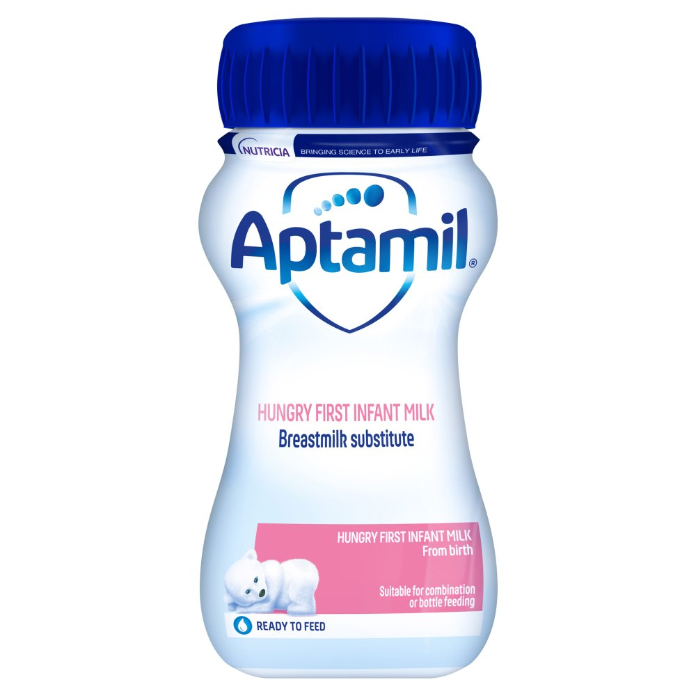 Aptamil Hungry First Infant Milk from Birth 200ml