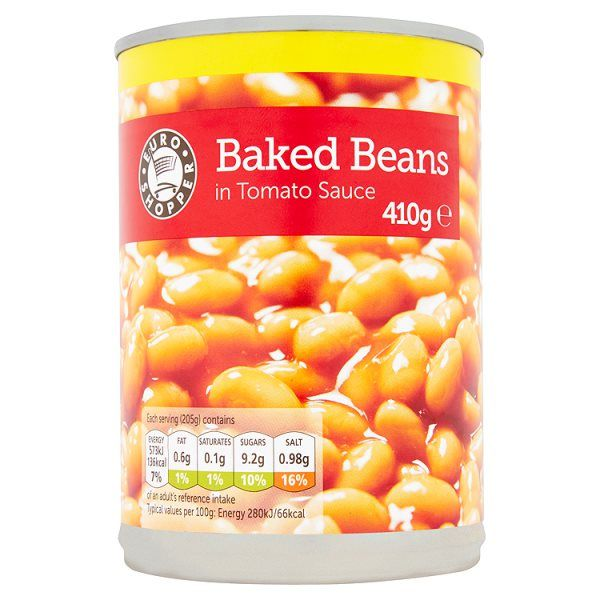 Euro Shopper Baked Beans in Tomato Sauce