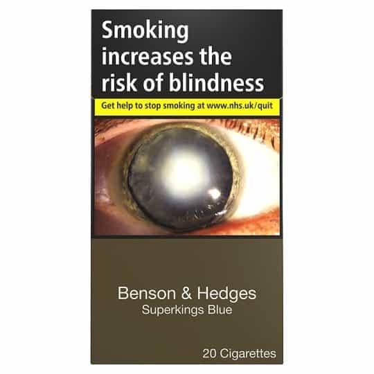 Benson & Hedges Blue King Size Cigarettes