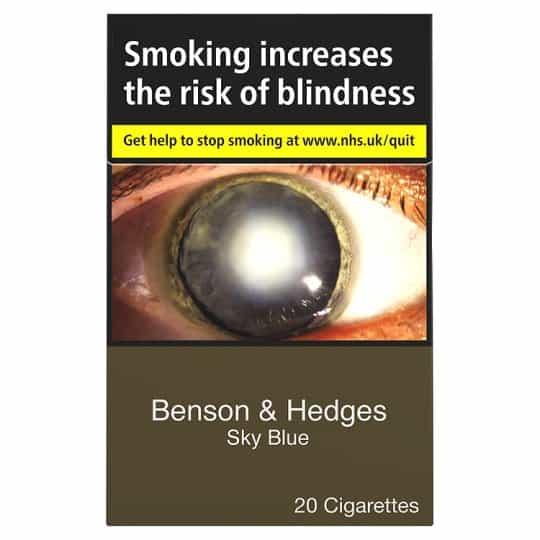 Benson & Hedges Sky Blue King Size