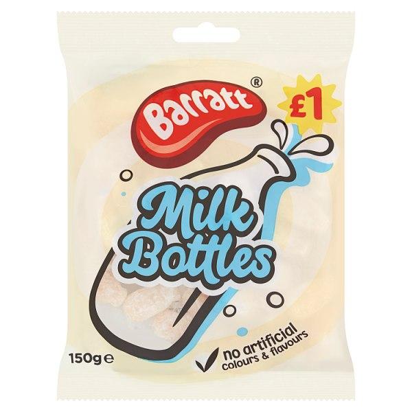 Barratt Milk Bottles 150g PMP £1
