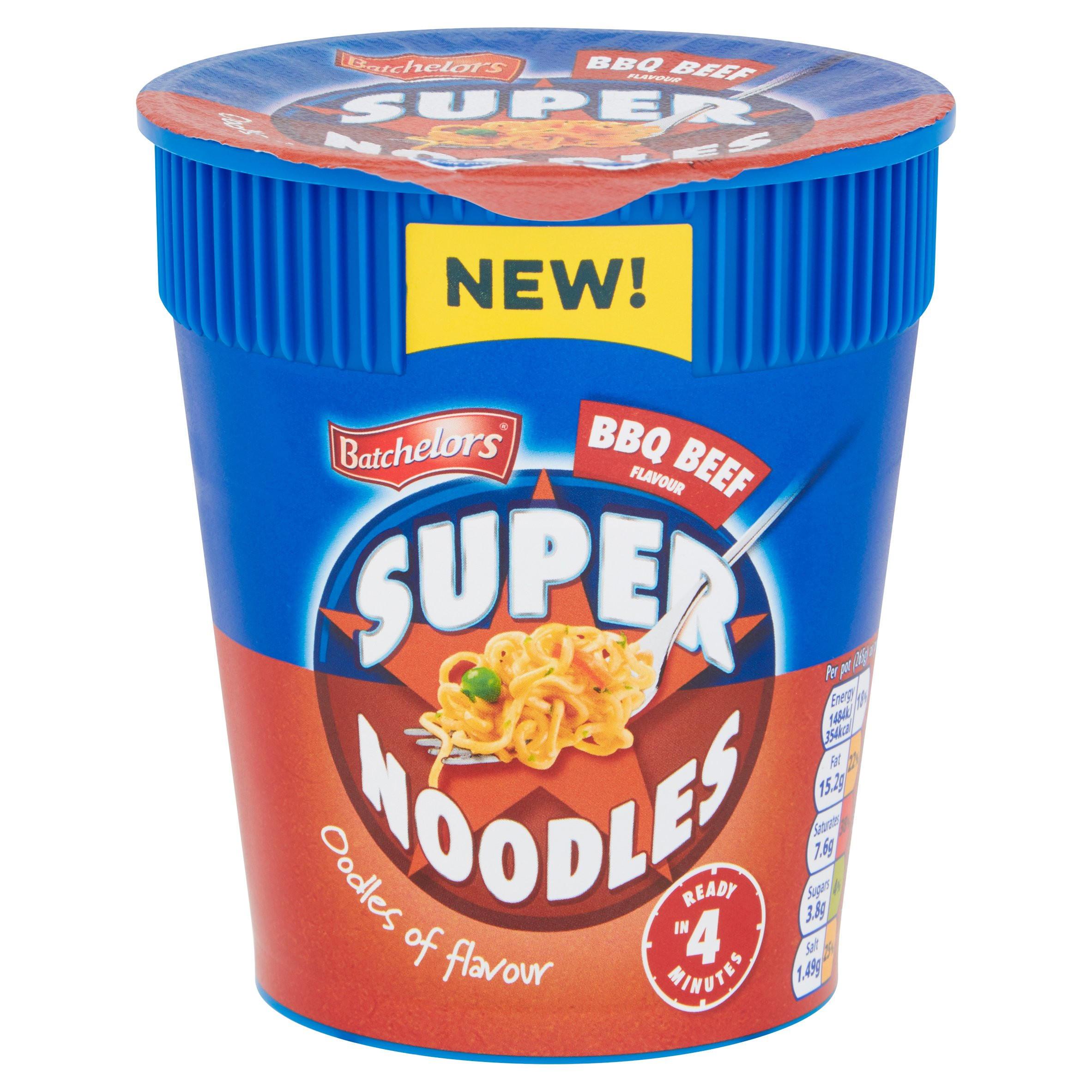 Batchelors BBQ Beef Flavour Super Noodles 75g