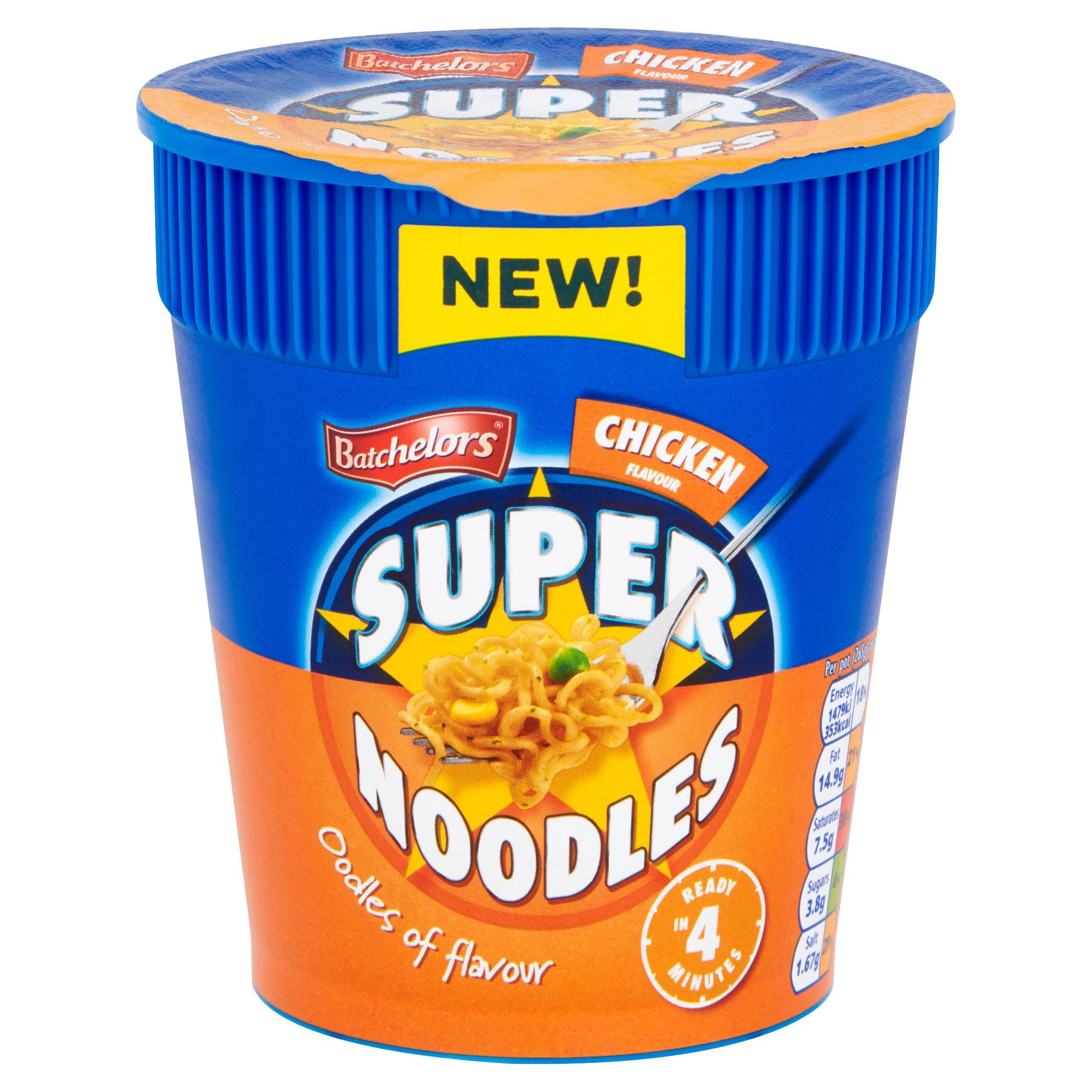 Batchelors Chicken Flavour Super Noodles 75g