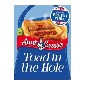 Aunt Bessie Toad in the Hole