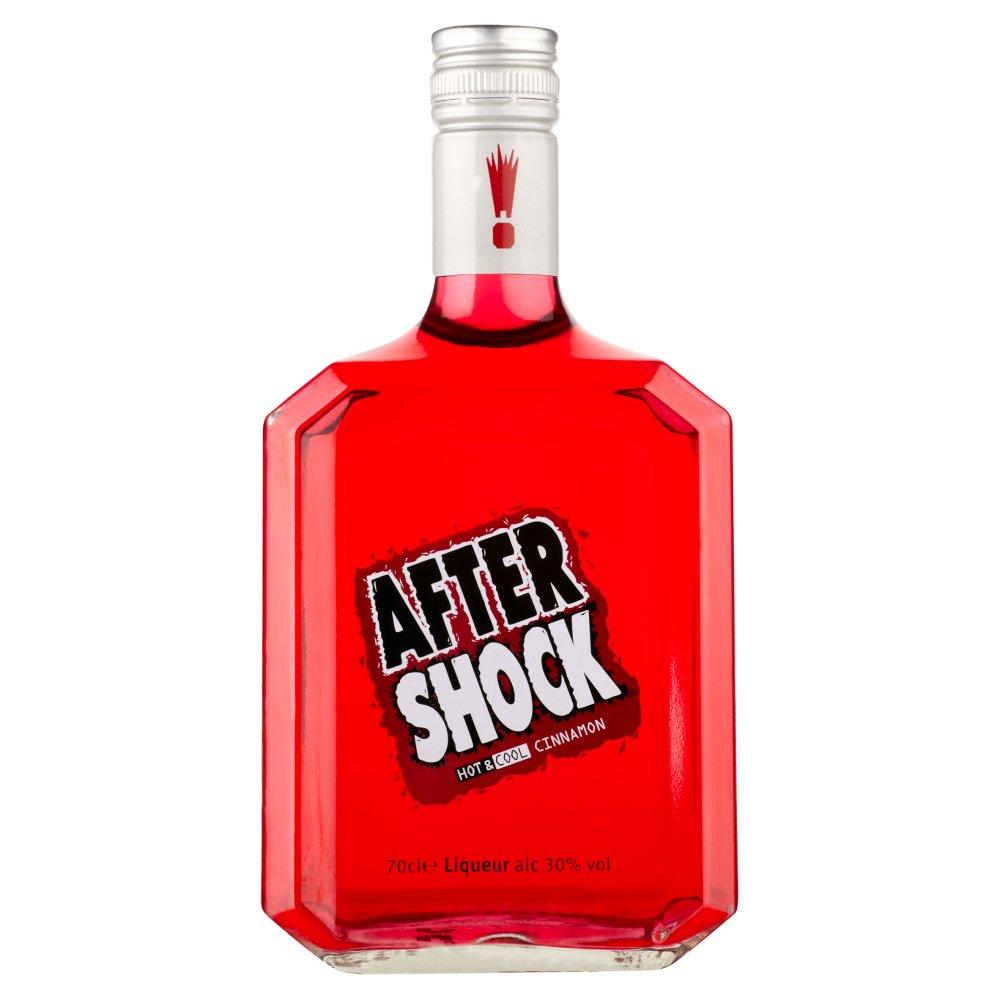 After Shock Hot & Cool Cinnamon Liqueur 70cl