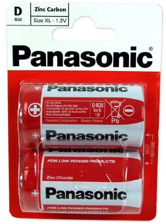 PANASONIC 1.5v Battery D