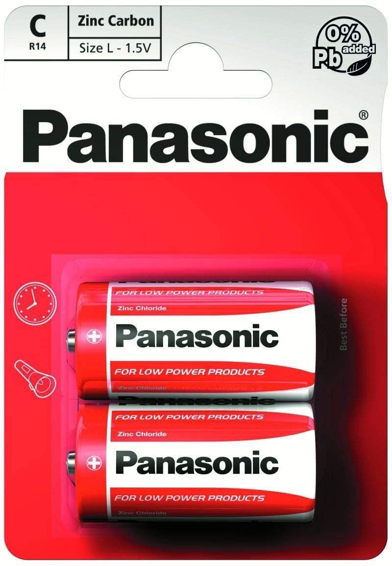 PANASONIC 1.5v Battery C