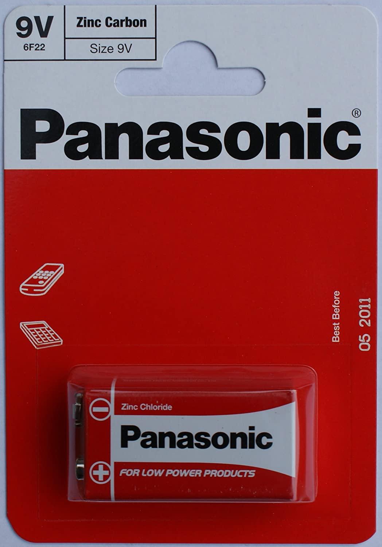 PANASONIC 1.5v Battery 9v