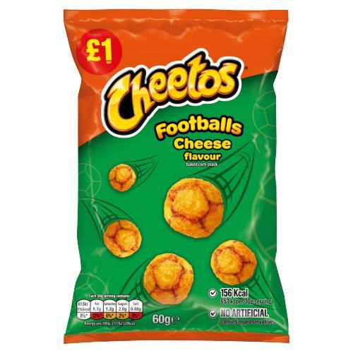 Cheetos Footballs Cheese Snacks £1