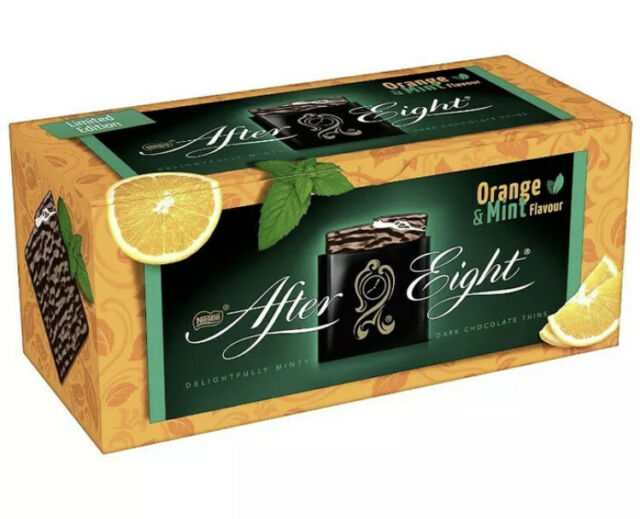 After Eight Limited Edition MINT & Orange 200g